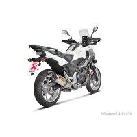 Honda NC 700/750X/S /Integra 2012-20  Slip-On Line (Titanio)