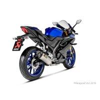 Yamaha YZF-R125/15, MT-125 2019-20 Racing Line (Titanio)